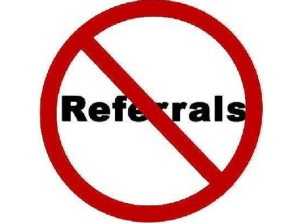 Marketing - Nix The Referrals