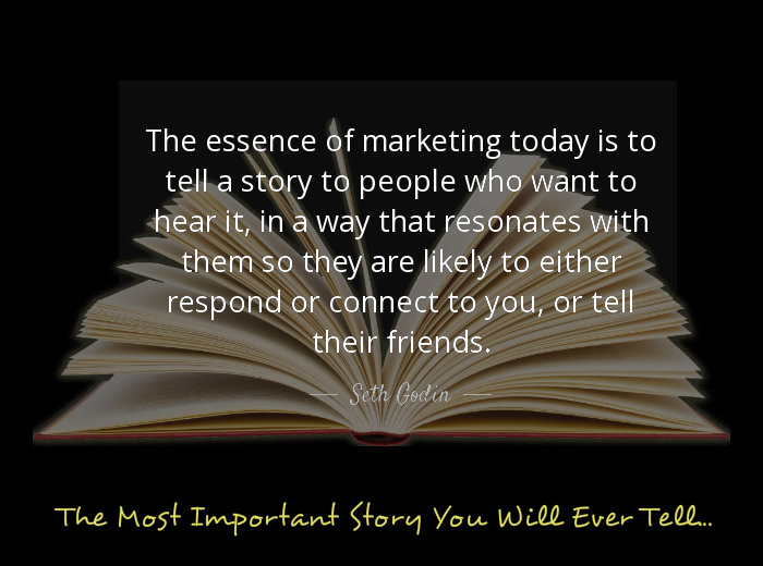 The most important marketing story you will ever tell...