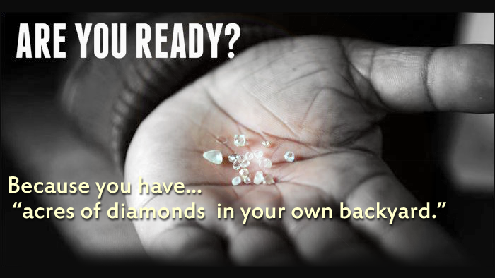 Acres of Diamonds for Financial Advisors
