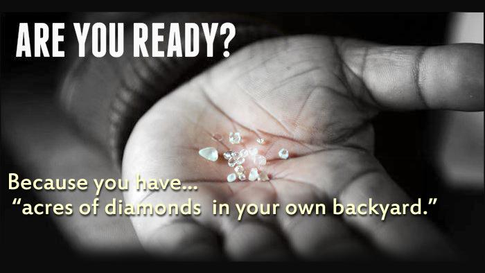 Acres of Diamonds for Financial Advisors