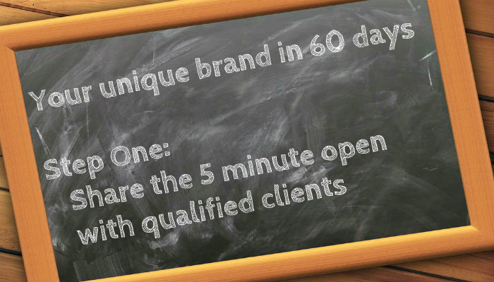 Uniquely Brand Your Financial Advisor Business in 60 days