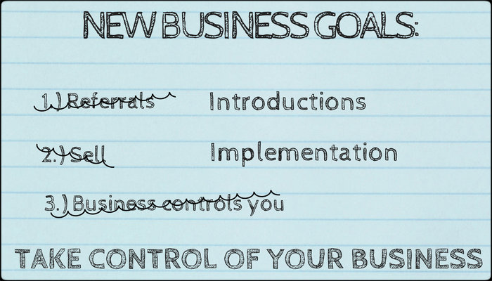 Financial Advisors New Business Goals