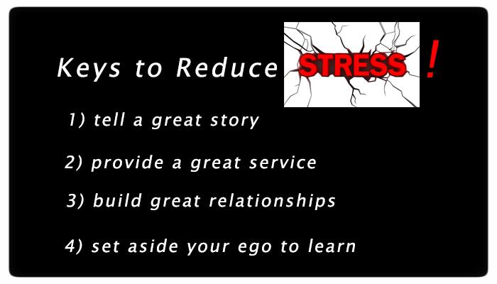 Keys to reducing stress for Financial Advisors