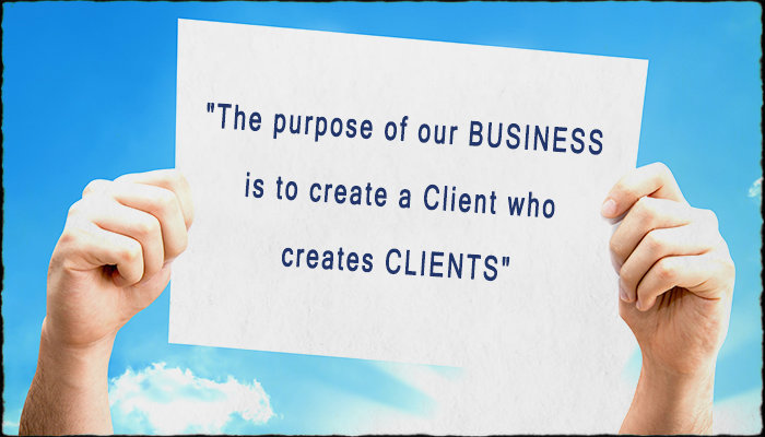 Client Centric Marketing will show you how to create clients who create clients. Simply.